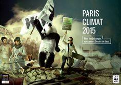 WWF France - WWF et Saxoprint interpellent le grand public sur les enjeux du réchauffement climatique