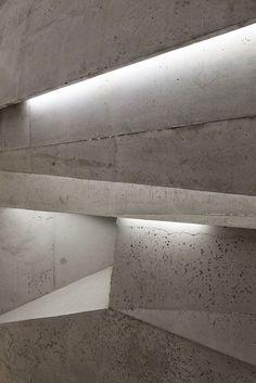 Concert Hall Blaibach - Peter Haimerl Architektur #Concrete #Line #Light