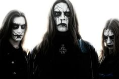 black metal corpse paint