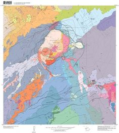 Beautiful Destruction: 11 Gorgeous Geological Maps of Volcanoes | Wired Science | Wired.com — Designspiration