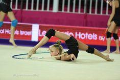 Alina ERMOLOVA (RUS) Hoop Training