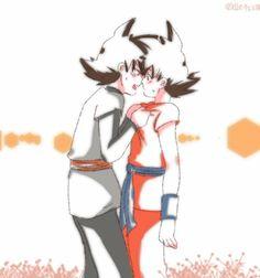 Black x Goku :'3