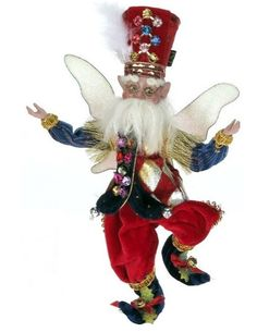 Drummer Boy Fairy: Mark Roberts always ships for free at Florida Gifts www.FloridaGiftsOnline.com