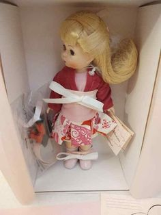 "New Madame Alexander 8/"" Doll  Love/'s Bloom 49880  New In Box Rose Bouquet"