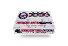 Minnesota Twins MLB Checker Board Game Set