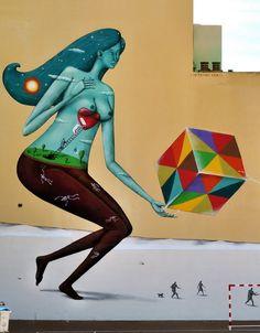 INTERESNI KAZKI http://www.widewalls.ch/artist/interesni-kazki/ #graffiti #street #art