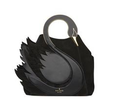 kate spade | on pointe swan handle bag - katespadelookbook fall 2016