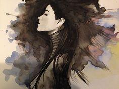 #femme #watercolor #version