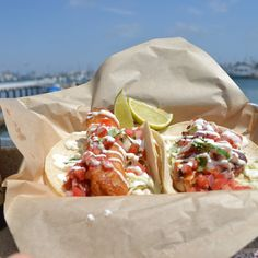Who else would you trust when it comes to fish tacos?