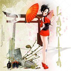 Art Popeye Wong by Luheca Designs