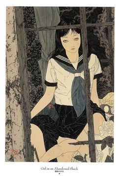 'Girl in an Abandoned Shack' by Takato Yamamato