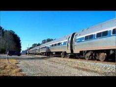 The Amtrak Palmetto #90 Thru West Ashley, SC [HD] - YouTube