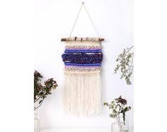 Free loom weaving pattern: Midwest Maize Wall Hanging via Lion Brand Yarn