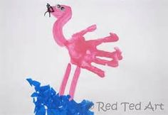 kids handprint art - Bing Images