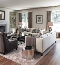 two-coffee-tables-ideas-living-room-transitional-with-gray-rug-themed-single-panel-curtains.jpg (916×990)
