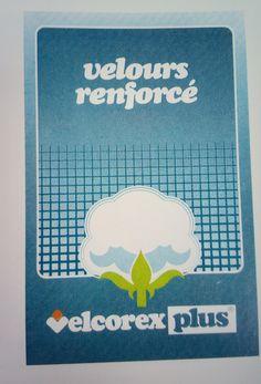 Etiquette Velcorex - Collection Velcorex Plus - Velours renforcé