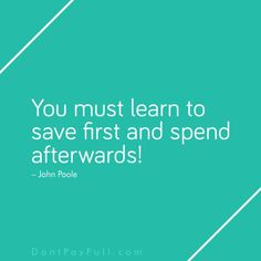 Money Quotes: The Most Powerful Things Ever Said About Saving Money Saving Money Quotes, Money Plan, Money Saving Challenge, Budgeting Money, Financial Literacy, Budget Planner, Money Matters, Finance Tips, Helping People