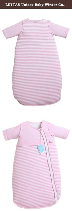 "LETTAS Unisex Baby Winter Cotton Removable Long Sleeve Zip up Sleeping Bag Thicken Pink S (0-6 months). LETTAS Size Dimensions Thicken Cotton Baby Sleepbag ★ - S size: Length is 27.5""/70cm,suitable for baby height between 21""-31"" or birth (4kg/8Ibs) to 6 momths ★ - M size: Length is 35.5""/90cm,suitable for baby height between 32""-38"" or 6-18 months LETTAS-One Stop Baby Product Choice Baby cloth diaper, bath towel, washcloth, sleeping bag, drool bibs, newborn mittens and footie, infant…"