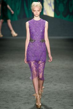 Vera Wang Spring 2013 RTW - Review - Fashion Week - Runway, Fashion Shows and Collections - Vogue