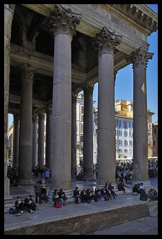 Pantheon, Rome #monogramsvacation
