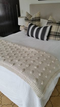 Philigry: Maine Squeeze blanket knitting pattern