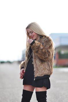 FASHION IS MY LIFE BY ESTEFANIA  Look con chaqueta de pelo  kissmylook d71bdbbc9feb