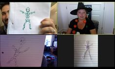 This fun Halloween pictionary game will have people trying to draw pictures of Halloween characters based on clues! It's the perfect virtual Halloween game! Halloween Scavenger Hunt, Halloween Games For Kids, Easy Halloween, Halloween Treats, Halloween 2020, Neon Party Decorations, Halloween Pictures, Projects For Kids, Party Plan