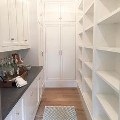 """1,329 Likes, 24 Comments - Caitlin Creer Interiors (@caitlincreerinteriors) on Instagram: """"Loving all the storage in this pretty and practical pantry from our #midwayfarmhouse project."""""""