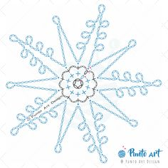 Crochet ideas that you'll love Free Crochet Snowflake Patterns, Crochet Bookmark Pattern, Crochet Symbols, Crochet Bookmarks, Crochet Snowflakes, Crochet Diagram, Tatting Patterns, Crochet Motif, Crochet Patterns