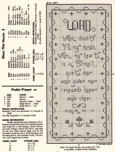 Cross Stitch Scripture Bookmarks - Bing Images
