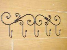 Крючки для одежды из металла своими руками