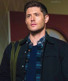 Why do I have to be some kind of hero? — 13x13 Devil's Bargain, Dean Winchester promo pic...(LizSedit)