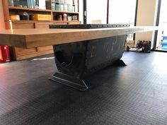 This is what bespoke furniture is all about. Custom made table using an upcycled cocopan as the base with wooden top. Wooden Tops, Bespoke Furniture, Custom Made, Upcycle, Base, Home Decor, Custom Furniture, Homemade Home Decor, Upcycling