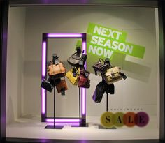 Nordstrom Flagship Anniversary Sale 2012 Window Displays