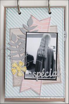 Histoire de cheveux!   MANOUSCRAP Mini Albums, Emo, Polaroid Film, Scrapbooking, Image, Ikea Frames, Minis, Tips And Tricks, Hair