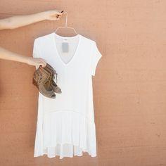 Ivory free spirited dress