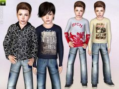 Perfect boy clothing set by Lillka - Sims 3 Downloads CC Caboodle