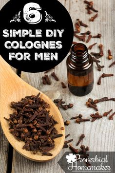 DIY Essential Oils Colognes for Men
