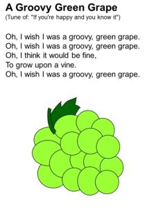 A Juicy Green Grape song
