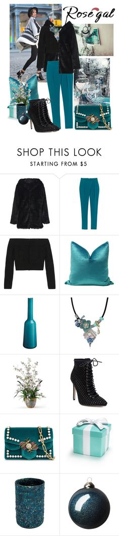 """""""Untitled #759"""" by moni4e ❤ liked on Polyvore featuring TIBI, Barbara Casasola, Villeroy & Boch and Gucci"""
