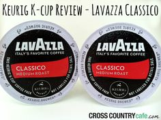 Lavazza Classico Keurig K-cup coffee offers a sophisticated brew with a European flair.