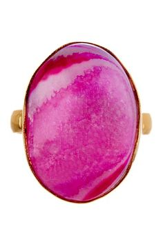 Cam & Zooey Juicy Druzy Ring by Fashionable Finds on @HauteLook