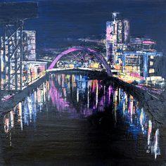 Prints Scotland : Squinty Bridge, Glasgow