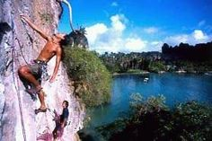 Railay Island in Southern Thailand!! climbing for beginners too!