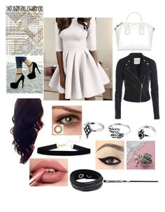 """30 Day OC Challenge Day #20"" by shadow-948 ❤ liked on Polyvore featuring Perfection Beauty, Swarovski and Martha Jackson"