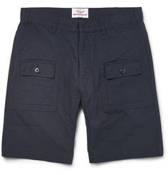 Cotton-Ripstop Shorts   MR PORTER