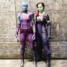 Guardians of the Galaxy Stunt Doubles Cute Cosplay, Best Cosplay, Cosplay Girls, Cosplay Costumes, Halloween Costumes, Awesome Cosplay, Cosplay Ideas, Halloween Makeup, Costume Ideas