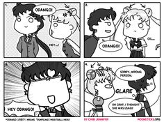 MoonSticks #21 Seiya's Odango Obsession featuring Seiya/Sailor Star Fighter and Usagi/Sailor Moon