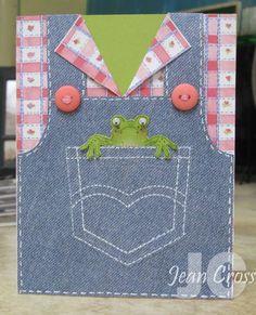 Cute frog card!