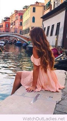 Light pink romantic dress